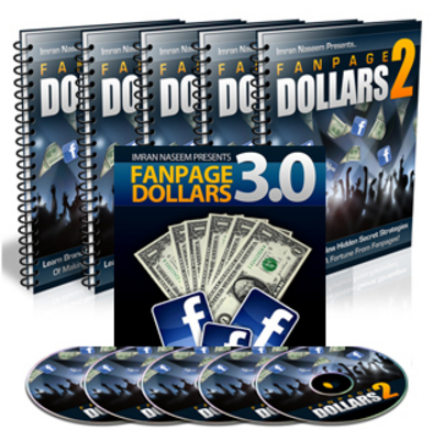 Product picture Fanpage Dollars 3 (new) + Fanpage Dollars 2 (both with plr)